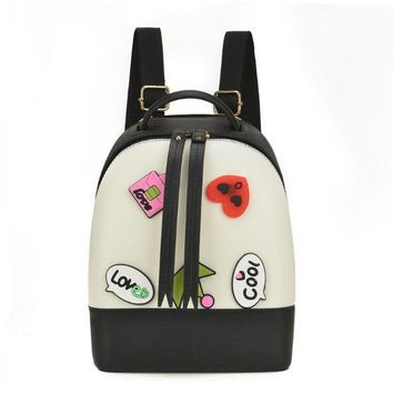 Toddler Backpack class 2018 Boys/Girls Cute Cartoon Bagpack Children Silica Gel Jelly Bag Kindergarten Letter Stitching Backpack Candy Bags for Toddler AT_50_3