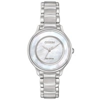 Ladies' Citizen Eco-Drive Circle of Time Mother-of-Pearl Dial Watch