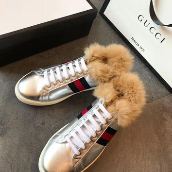 GUCCI Ace sneaker with wool-1
