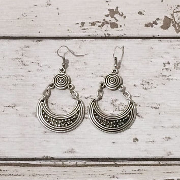 Crescent Mind Earrings
