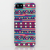 AZTEC PATTERN iPhone Case by Nika  | Society6