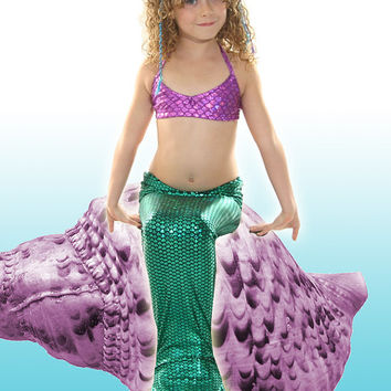 Swimmable/Walkable  Ariel Mermaid Tail !Add Monofin/Add Bikini!