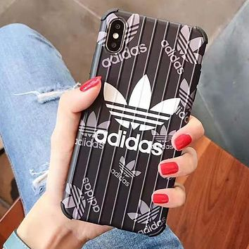 Adidas Fashion iPhone Case For iphone 6 6s 6plus 6s-plus 7 7plus 8 8plus iPhone X XR XS XS MAX
