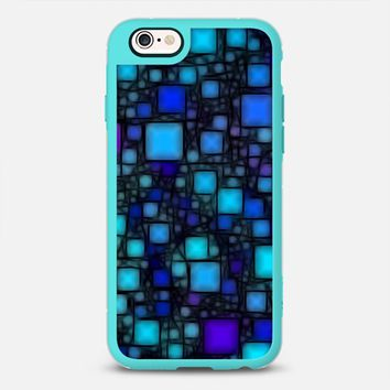 Post It Blue Glow iPhone 6s case by Alice Gosling | Casetify