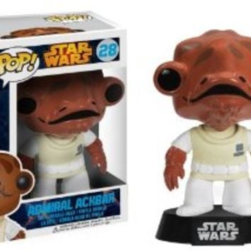 Funko POP Star Wars: Admiral Ackbar Bobble Figure