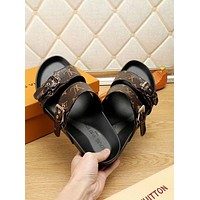 Louis Vuitton LV women Men's slippers shoes sandals