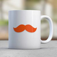 Lucky Irish Red Moustache Funny Mugs Coffee Mugs St Patricks Day Celebration Luck Shamrock Four Leaf Clover Leprechaun Gift