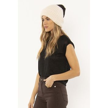 Block Party Knit Beanie -.Casa Blanca