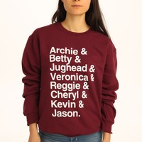 Archie to Jason Riverdale Sweatshirt