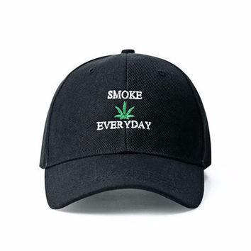 """Smoking Weed Everyday"" Cap"