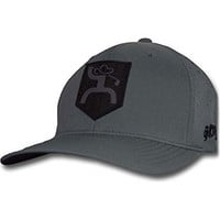 Hooey Men's Hooey Fairway Grey Flexfit Cap Grey S/M