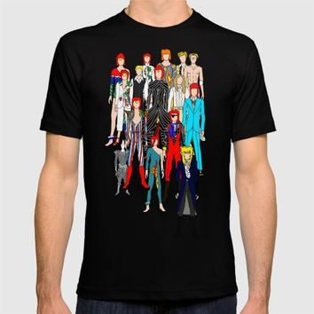 Bowie Doodle T-shirt by Notsniw