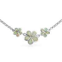 Bling Jewelry Plumeria Necklace