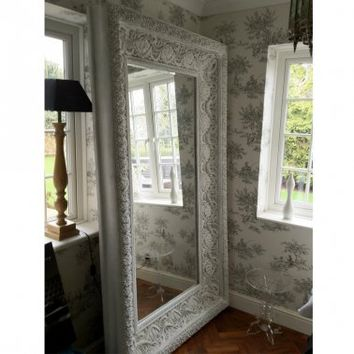 NEW! Ibiza Free Standing Floor Mirror  |  Full Length Mirrors  |  Mirrors & Screens  |  French Bedroom Company
