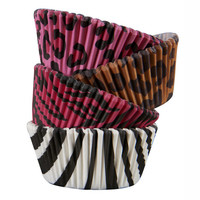 Celebrate It® Standard Baking Cups, Assorted Animal Prints