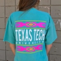 Texas Tech Tribal Comfort Colors T-Shirt