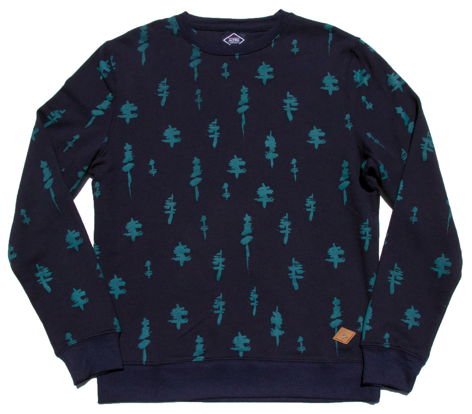 Conifer sweatshirt l s from altru apparel fall one 2015 for Altruy decoration sa