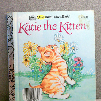 Katie the Kitten Vintage First Little Golden Book