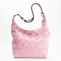 Coach SIGNATURE PIECED DUFFLE STYLE: F17490