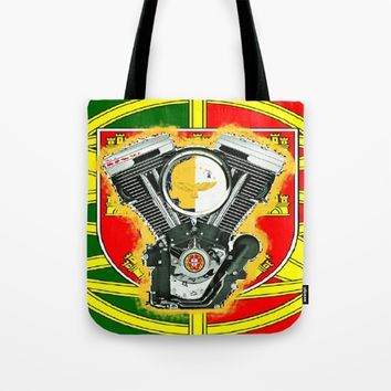 Evol Portugal flag Tote Bag by Tony Silveira