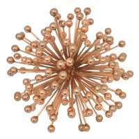 Benzara 46102 Charming Starburst Beads Orb Decor