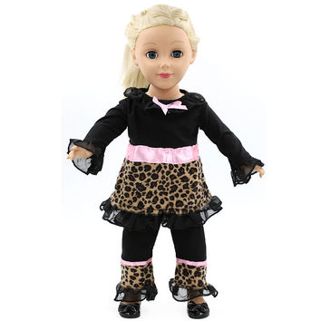 Trousers + Jacket American Girl Dolls Clothing of 18 inch Doll Dress Girl Best Gift 3 Style Options D-4