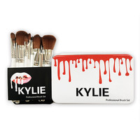 12-pcs KYLIE Make-up Brush Eye Shadow Brush Make-up Brush Set [9673165327]