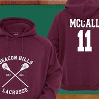 Scott McCall 11 Teen Wolf Custom Crewneck by marshabighoodie