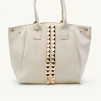 Pyramid Stud Slouchy Tote
