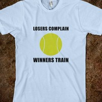 TENNIS WINNERS TRAIN