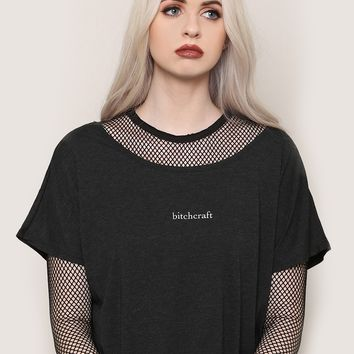 Bitchcraft Tee - Tops - Clothes at Gypsy Warrior