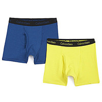 Calvin Klein 8-20 Chrome Trunks - Navy/Yellow