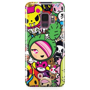 Tokidoki All Stars Samsung Galaxy S9 Plus Case | Casefantasy