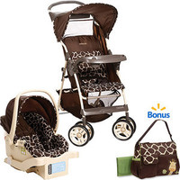 Walmart: Cosco Commuter Travel System w/BONUS Diaper Bag, Quigley