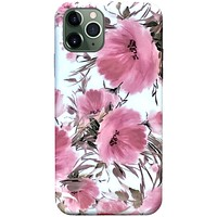 iPhone 11 Pro Case - Coral Meadow