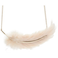 Nina Ricci Feather Necklace at Barneys.com