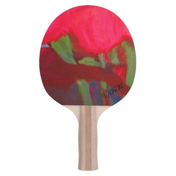 Visual Arts Ping Pong Paddle