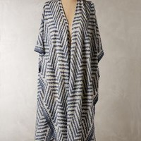 Sandy Ridge Kimono Scarf by Anthropologie in Blue Size: One Size Jackets