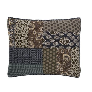 Tache 1 Piece Cotton Royal Chambers Patchwork Pillow Shams (JHW-573-Sham)
