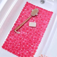 SlipX Solutions Field of Flowers Bath Mat - Walmart.com