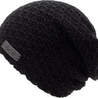 Neff Girls Grams Black Slouch Beanie