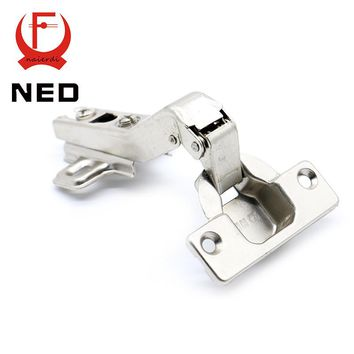 Hot Brand NED 45 Degree Corner Fold Cabinet Door Hinges 45 Angle Hinge Hardware For Home Kitchen Bathroom Cupboard With Screws