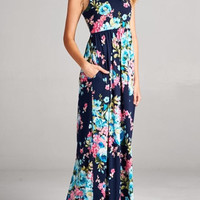 THE JOAN FLORAL MAXI DRESS