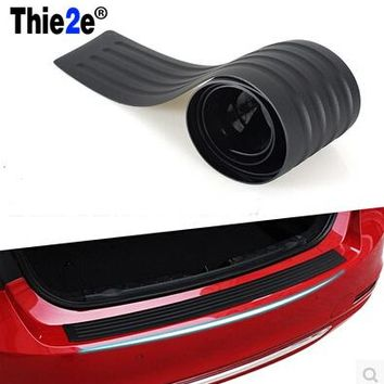 car trunk bumper protective strip rear guard plate for Geely EMGRAND 7 X7 EC7 GC7 SC7 VISION