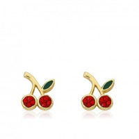Cherry Delight Cherry Stud Earrings