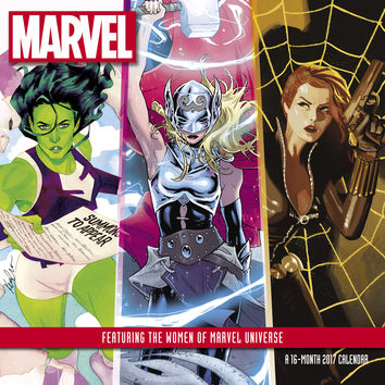 2017 Women Of Marvel Universe Wall Calendar