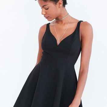 Kimchi Blue Heart Of The Ocean Sweetheart Mini Dress - Urban Outfitters