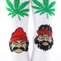 Huf, Cheech & Chong 420 Socks - White - Accessories - MOOSE Limited