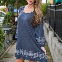 A Great Day Dress, Navy
