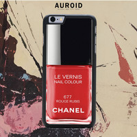 Chanel Nail Polish Rouge Rubis IPhone 6S Plus Case Auroid